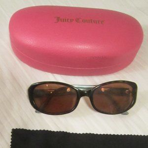 Juicy Couture Prescription Rx Sunglasses With Case